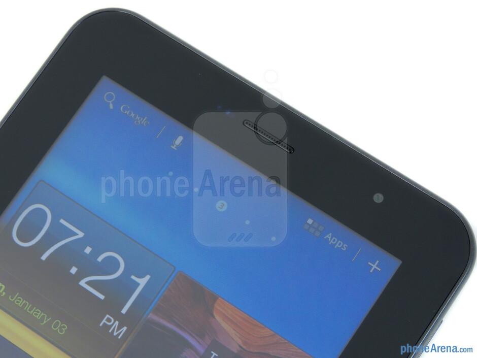 2-megapixel front-facing camera - Samsung Galaxy Tab 7.0 Plus Review