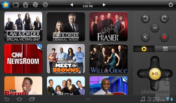 The Peel Smart Remote app - Samsung Galaxy Tab 7.0 Plus Review