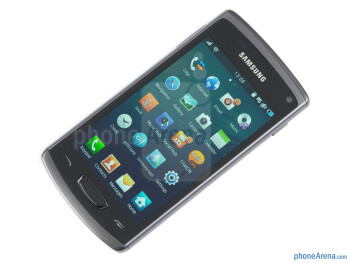 """Samsung Wave 3 has a 4"""" Super AMOLED display - Samsung Wave 3 Review"""