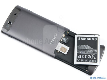 Battery compartment - Samsung Wave 3 Review