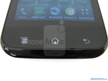 Android buttons - T-Mobile myTouch Review