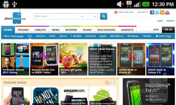 The WebKit based browser - T-Mobile myTouch Review