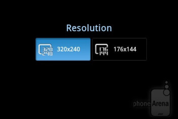 Camera interface - Samsung DoubleTime Review
