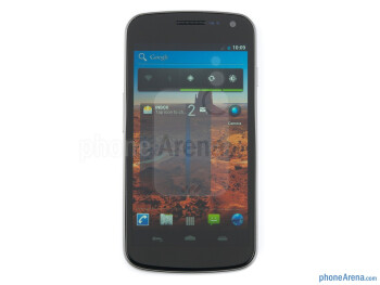 "The Samsung Galaxy Nexus sports an enormous  4.65"" screen with an HD resolution of 720x1280 pixels - Samsung Galaxy Nexus Review"