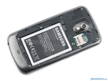 Battery compartment - Samsung Galaxy Nexus Review