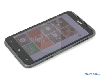 """The HTC Titan comes with a 4.7"""" WVGA (480 x 800) S-LCD display - HTC Titan Review"""