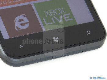 Android buttons - HTC Titan Review