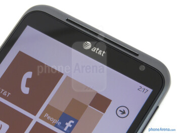 Front-facing 1.3-megapixel camera - HTC Titan Review