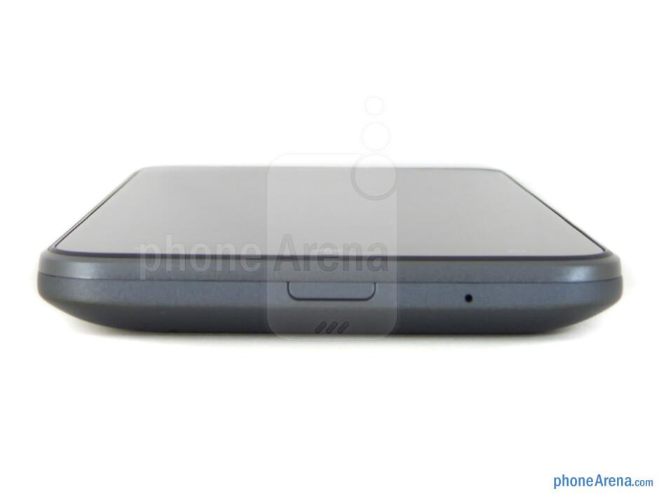 Bottom edge - HTC Titan Review