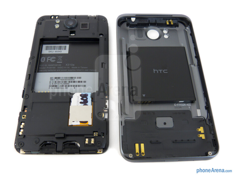 Battery compartment - HTC Titan Review