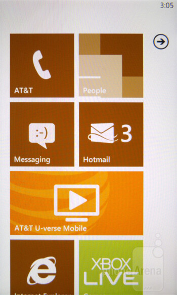 The HTC Titan offers the Windows Phone 7.5 Mango experience - HTC Titan Review