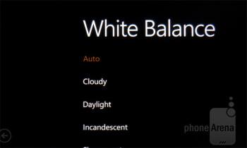 Camera interface - HTC Titan Review