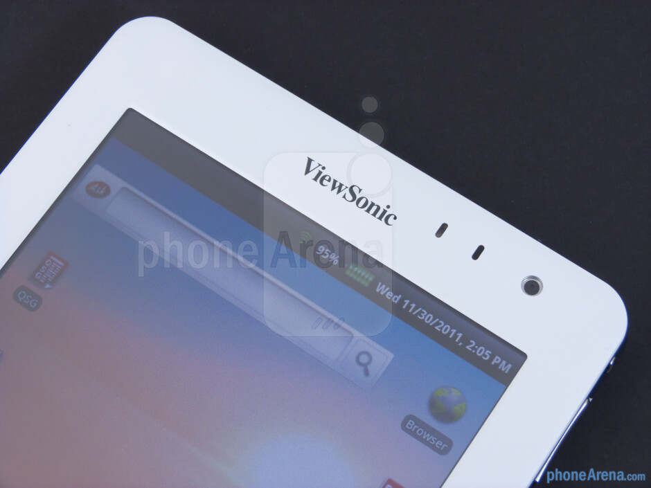 "The ViewSonic ViewPad 7e features a 7"" 800x600 px. resistive touchscreen - ViewSonic ViewPad 7e Review"