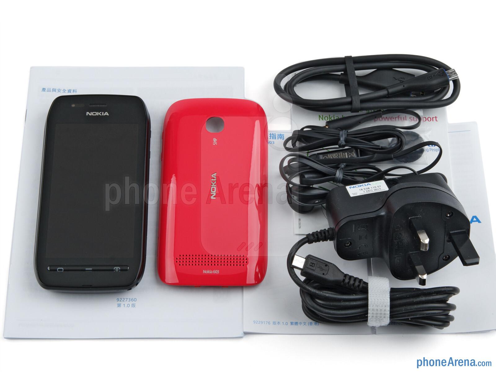 reputable site f8c8d c652b Nokia 603 Review - PhoneArena