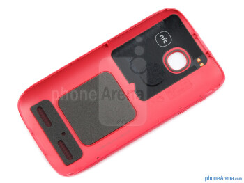 Back cover (inner side) - Nokia 603 Review