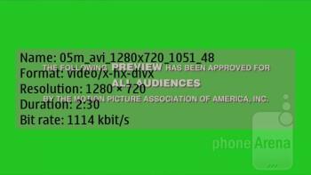 The Nokia 603 video player - Nokia 603 Review