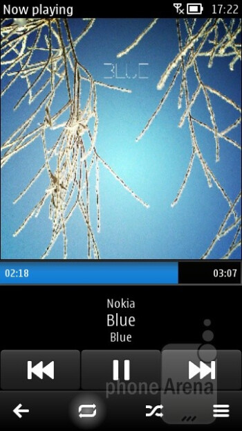 Music player - Nokia 603 Review