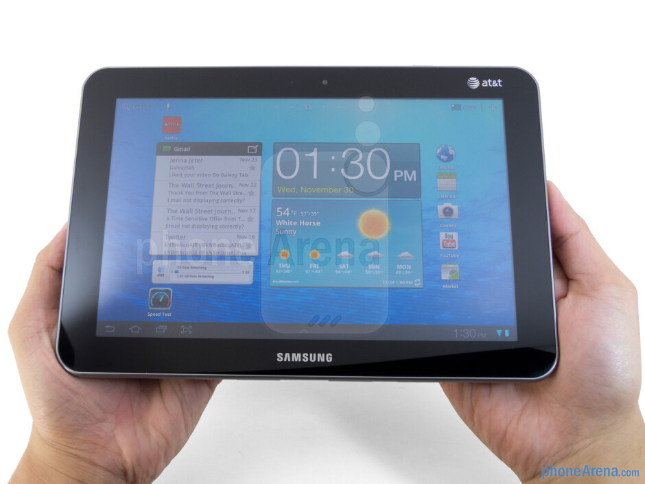The Samsung Galaxy Tab 8.9 LTE has a sleek profile, lightweight feel, and solid construction - Samsung Galaxy Tab 8.9 LTE Review