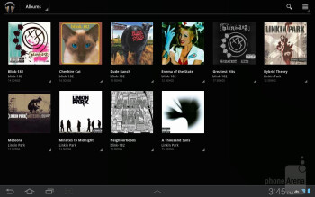 Music player - Samsung Galaxy Tab 8.9 LTE Review