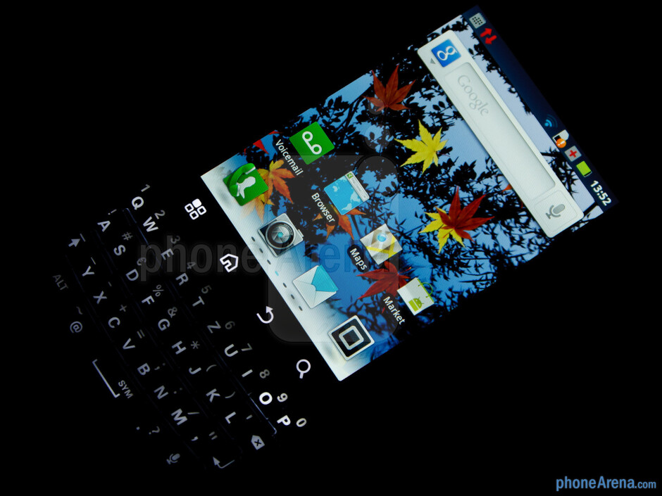 The 3.1-inch display has a resolution of 480 by 640 pixels - Motorola PRO+ Review