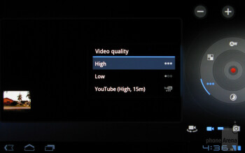 Camera interface - T-Mobile SpringBoard Review