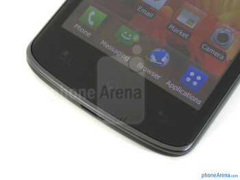 Capacitive Android buttons - LG Nitro HD Review