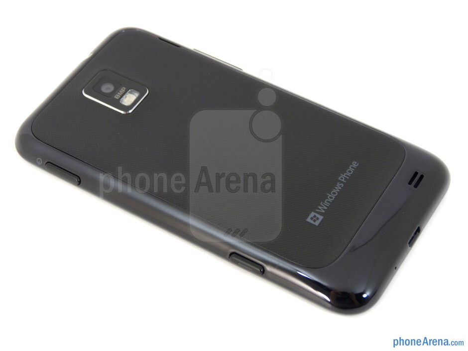 Back - Samsung Focus S Review