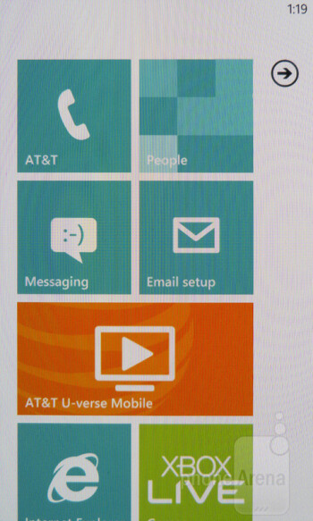 Samsung Focus S is equipped with Windows Phone 7.5 Mango - Samsung Focus S Review