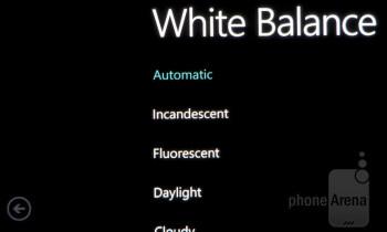 Camera interface - Samsung Focus S Review