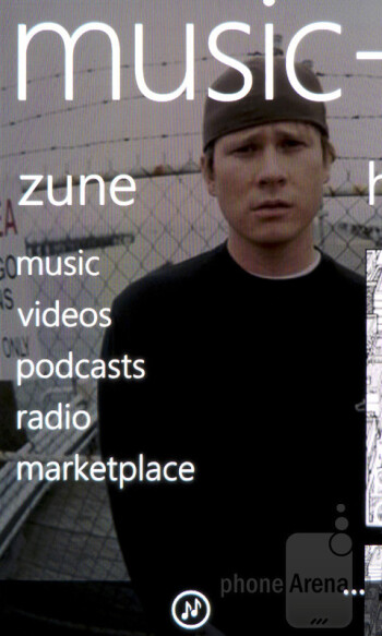 Zune - Samsung Focus S Review