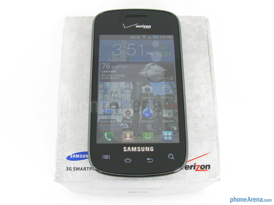 Samsung Illusion Review