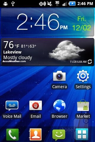 Running on the Samsung Illusion is Android 2.3.5 Gingerbread - Samsung Illusion Review