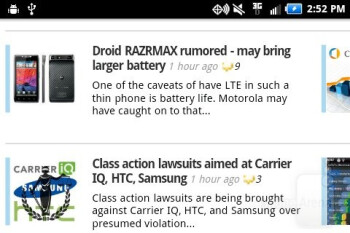 The WebKit based browser works well - Samsung Illusion Review