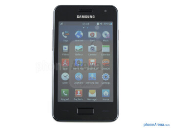 """The 3.65"""" LCD display sports 320x480 resolution - Samsung Wave M Review"""