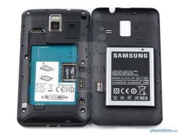 Battery compartment - Samsung Wave M Review