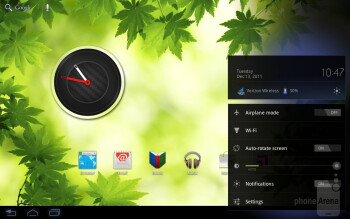 The Motorola DROID XYBOARD 8.2 offers the usual Android 3.2 Honeycomb experience - Motorola DROID XYBOARD 8.2 Review