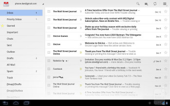 Gmail - Motorola DROID XYBOARD 8.2 Review