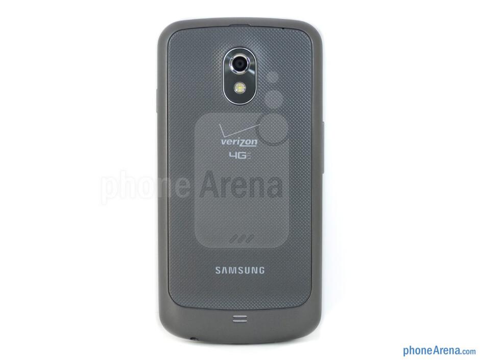Back - Verizon Galaxy Nexus Review