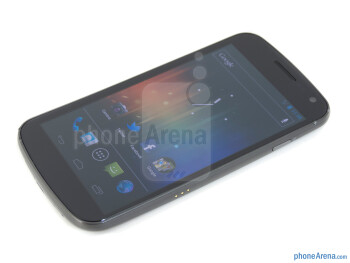 "The Verizon Galaxy Nexus boasts a 4.65"" HD Super AMOLED display - Verizon Galaxy Nexus Review"