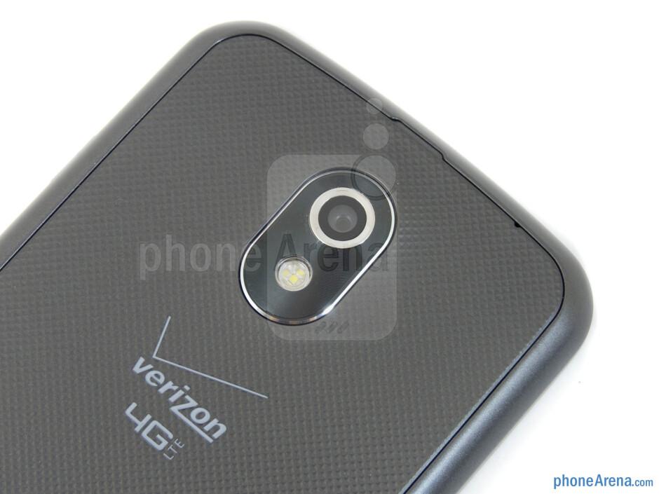 Rear camera - Verizon Galaxy Nexus Review