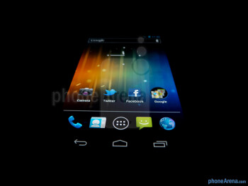 The Verizon Galaxy Nexus has wide viewing angles - Verizon Galaxy Nexus Review