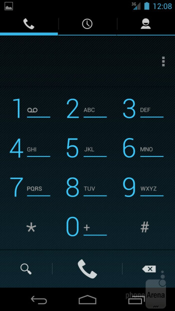 Dialer - Verizon Galaxy Nexus Review