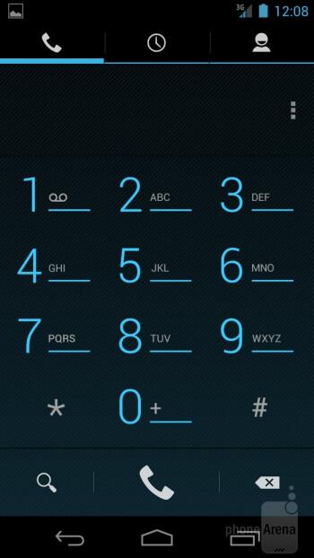 Dialer - Verizon Galaxy Nexus Review