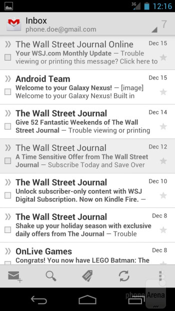 Gmail - Verizon Galaxy Nexus Review