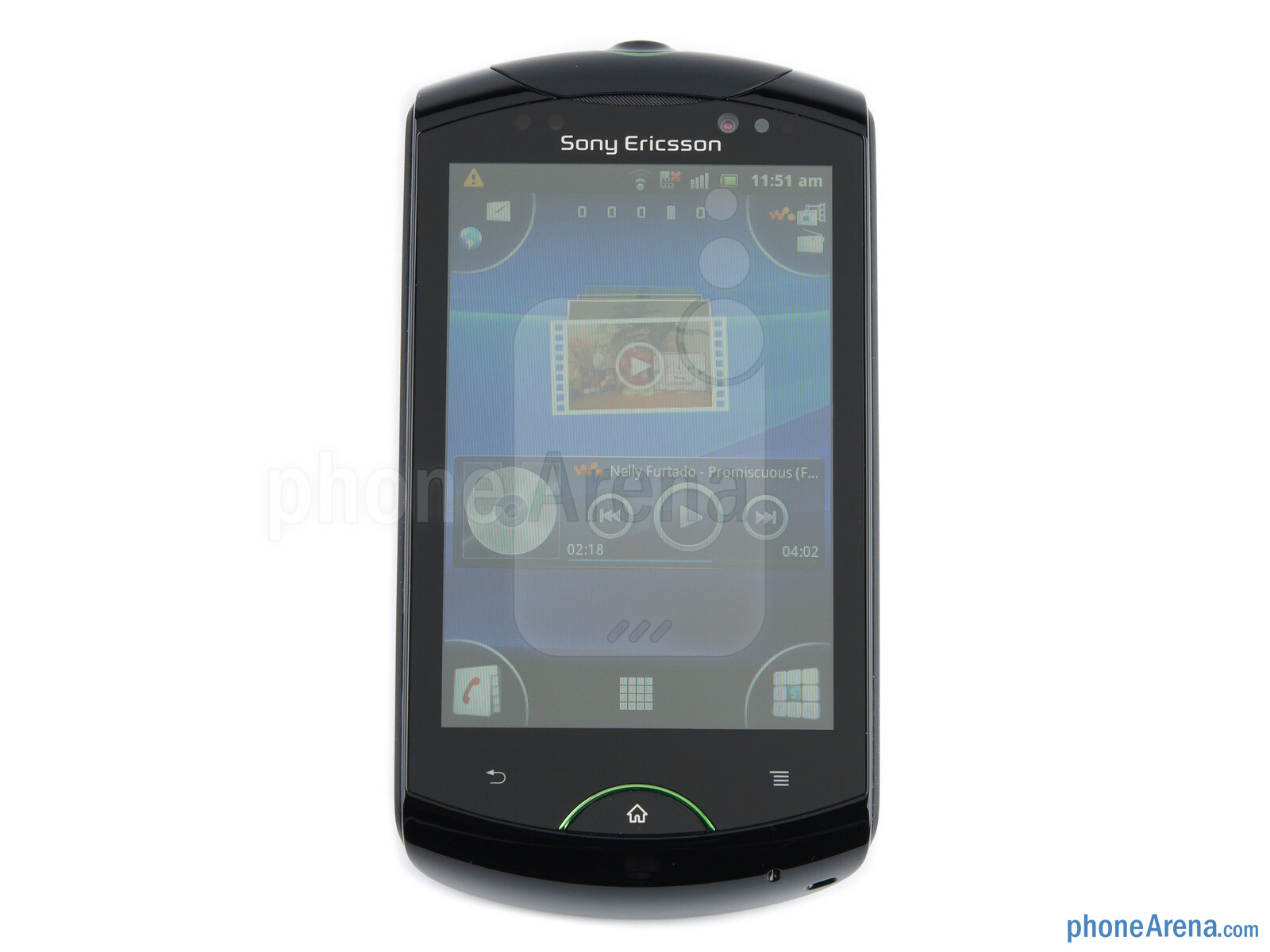 Sony Ericsson Live with Walkman Review Design 02