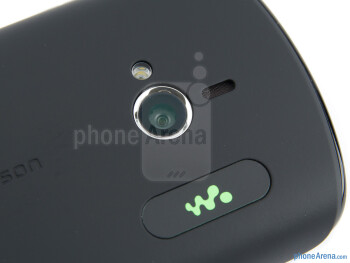 Camera - Sony Ericsson Live with Walkman Review