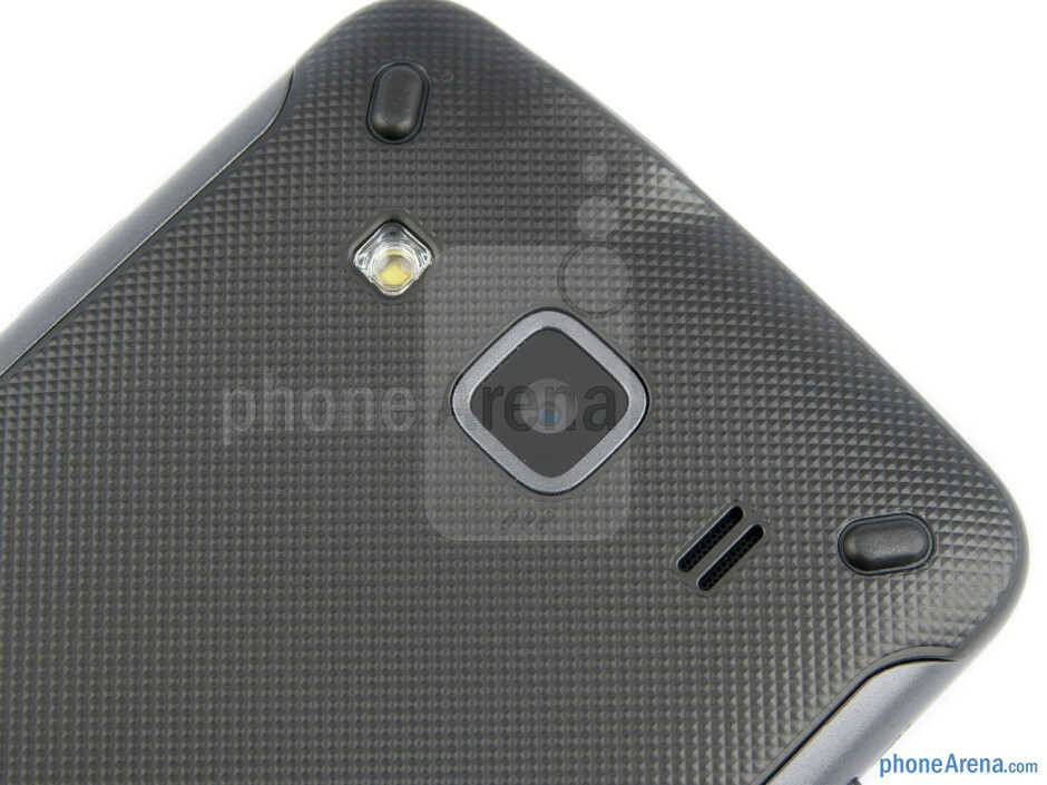 Camera - The battery compartment of Samsung Galaxy Xcover - Samsung Galaxy Xcover Review