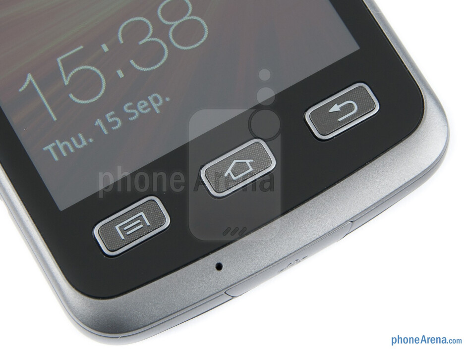 Android buttons - Samsung Galaxy Xcover Review