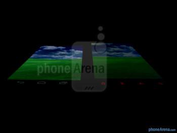 Viewing angles - Verizon Galaxy Nexus (left) and HTC Rezound (right) - Verizon Galaxy Nexus vs HTC Rezound
