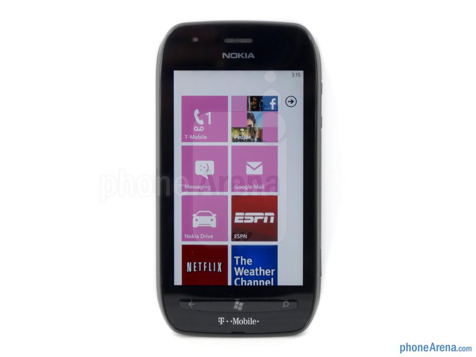 "The Nokia Lumia 710 has a 3.7"" WVGA Clear Black display - Nokia Lumia 710 Review"